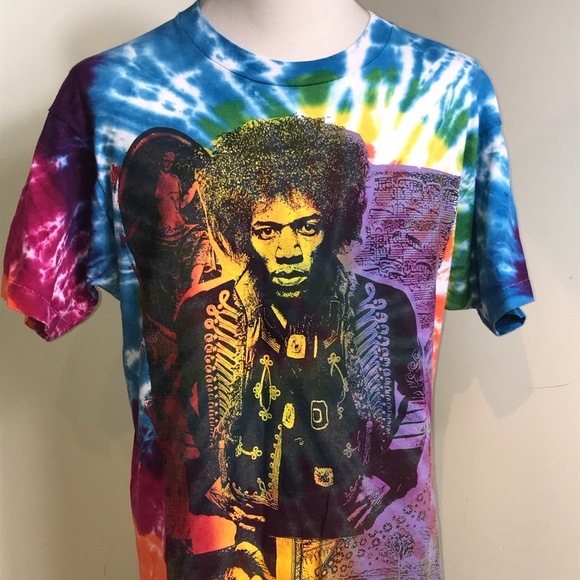 Fruit of the Loom Other - Jimi Hendrix Vintage T Shirt XL Experience Tie Dye